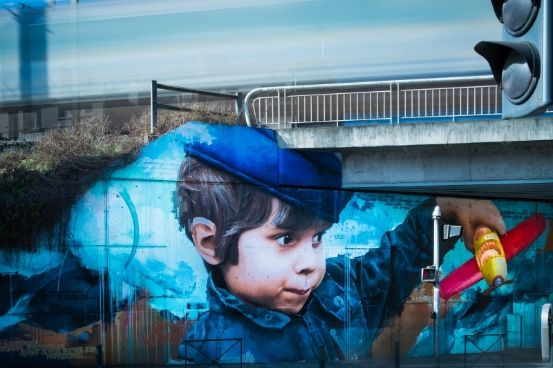 Graffiti Ponts Jumeaux