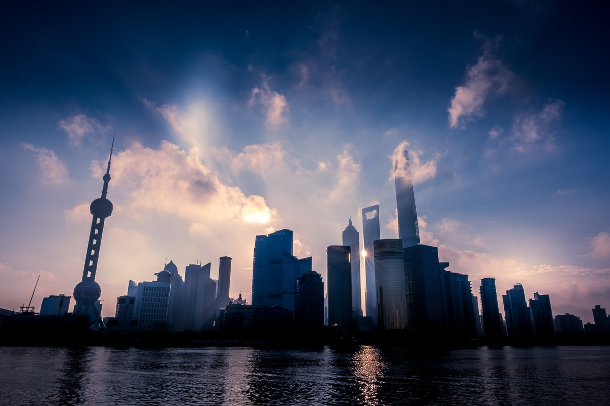 Shanghai Pudong Sunrise 17